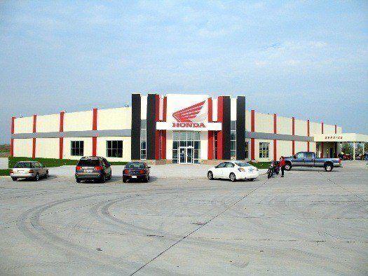 Hawkeye motorworks in davenport iowa is an exclusive for Honda dealers in iowa