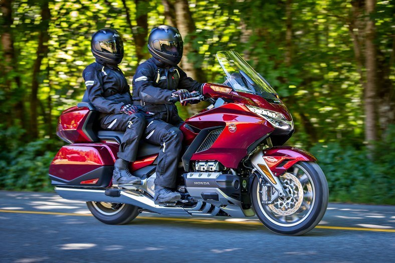 The best touring machine - The Honda Gold Wing